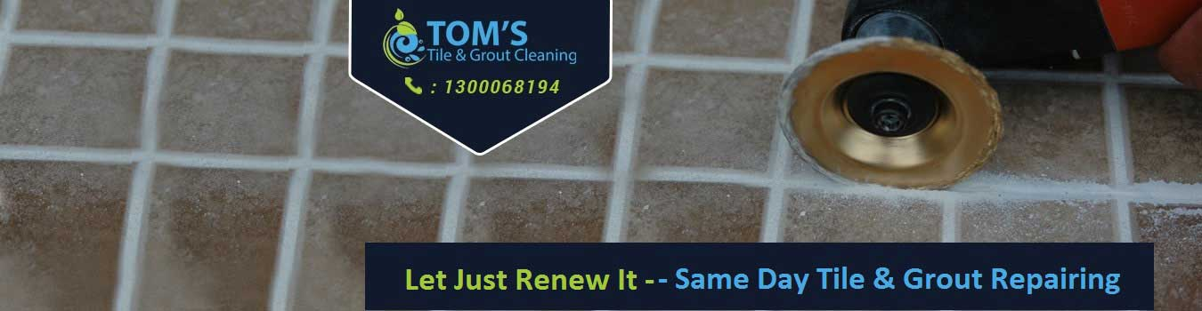 Same day tile grout